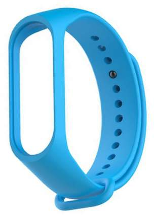 Сменный ремешок для Хiaomi Mi Band 3/4 Silicon Blue