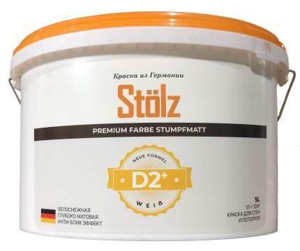 Краска для внутренних работ STOLZ ST0001 D2, 3L