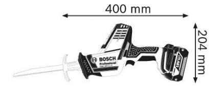 Аккумуляторная сабельная пила Bosch GSA 18 V-LI C 06016A5001 БЕЗ АККУМУЛЯТОРА И З/У