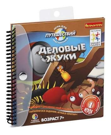 Магнитная игра Bondibon для путешествий, деловые жуки