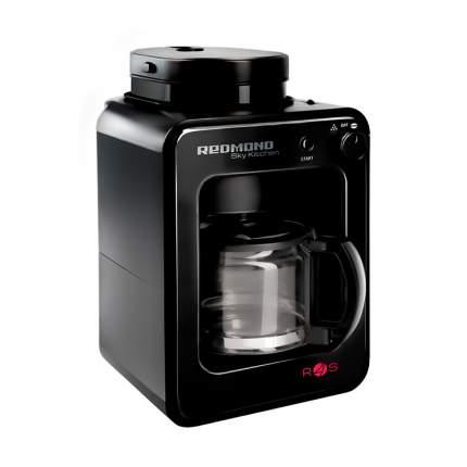 Умная кофеварка со встроенной кофемолкой Redmond SkyCoffee M1505S-E Black