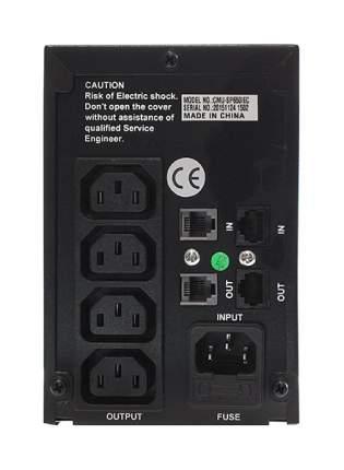 Источник бесперебойного питания CROWN CMU-SP800 IEC Серый, Black