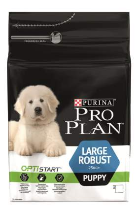 Сухой корм для щенков PRO PLAN OptiStart Large Robust Puppy, для крупных пород, курица,3кг