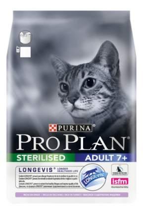Корм для кошек PRO PLAN +7 индейка, для стерилизованных 3 кг