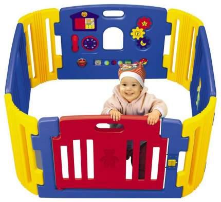Манеж Haenim Toy HNP-734M синий/желтый/красный