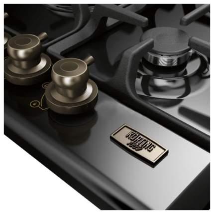 Встраиваемая варочная панель газовая Korting HG 7115 CTRN Black