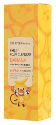 Средство для умывания MILATTE Fashiony Fruit Foam Cleanser Banana 150 мл