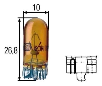 Лампа Hella 5W W2.1x9.5d 8GP 003 594-541