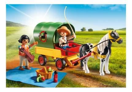 Игровой набор Playmobil PLAYMOBIL Пикник с коневозкой