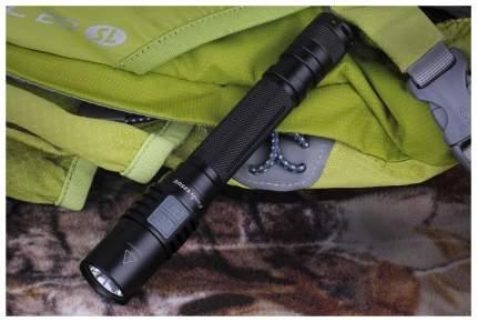 Туристический фонарь Fenix E25 UE черный, 5 режимов