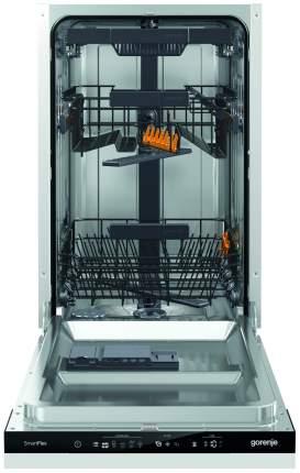 Встраиваемая посудомоечная машина 45 см Gorenje GV55110