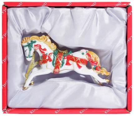 Елочная игрушка Kuchenland Лошадка 7,5 см