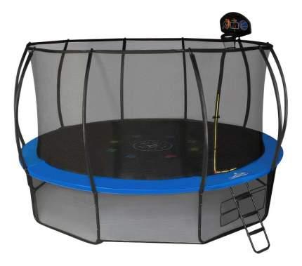 Батут Hasttings Air Game Basketball с сеткой и лестницей 305 см, green/blue