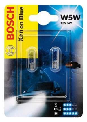 Лампа галогеноваяBosch 5W W5W 1987301033