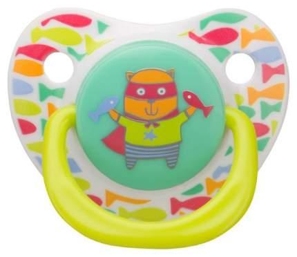Соска-пустышка силиконовая Happy Baby «Baby Sooter» Dog симметричной формы
