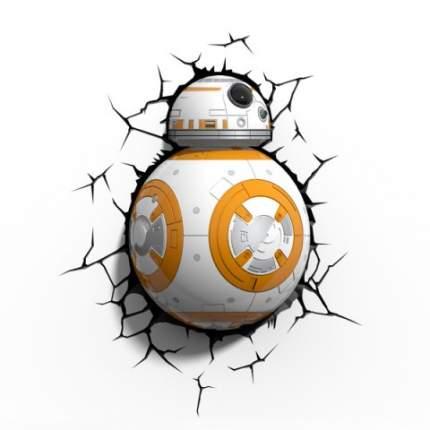 Светильник настенный Star Wars Дроид BB-8 3DLightFX 50021