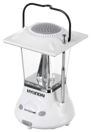 Радиоприемник Hyundai H-RLC110 Белый/Серый