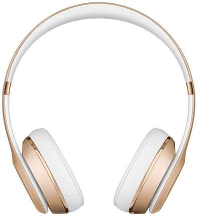 Беспроводные наушники Beats Solo3 Wireless On-Ear Headphones Gold (MNER2EE/A)
