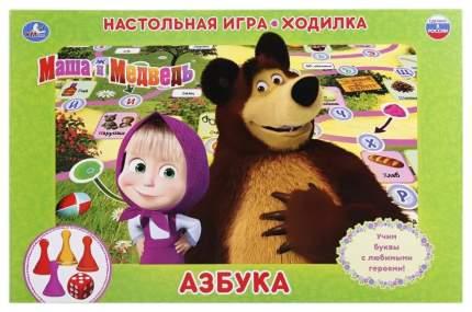 Семейная настольная игра Умка Азбука Маша И Медведь