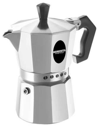 Кофеварка гейзерная Bialetti Morenita 5975 Серебристый, черный