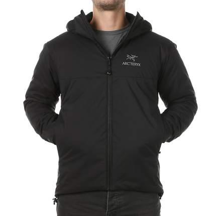 Спортивная куртка мужская Arcteryx Atom AR Hoody, black, XS