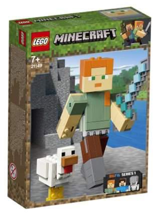 Конструктор LEGO Minecraft 21149 Большие фигурки Алекс с цыплёнком