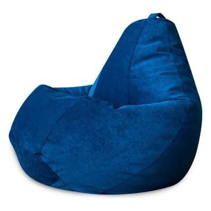 Кресло-мешок DreamBag Кресло-мешок, размер XL, велюр, синий