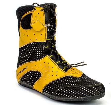 Ботинки мужские La Sportiva Spantik, grey/yellow, 38.5 FR
