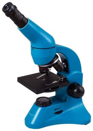 Микроскоп Levenhuk Rainbow 50L PLUS Azure\Лазурь