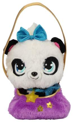 Плюшевая панда Shimmer Stars, с сумочкой, 20 см