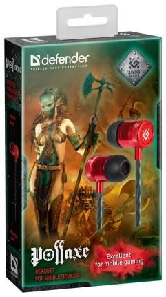 Игровая гарнитура Defender Pollaxe Black/Red