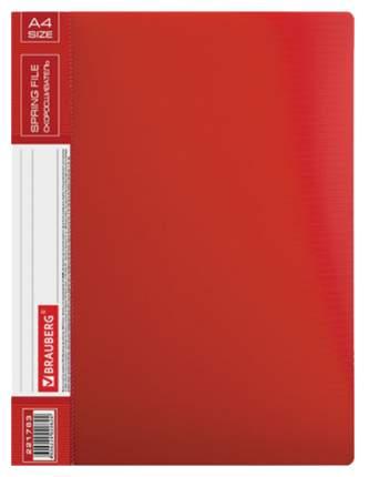 Папка-скоросшиватель Brauberg Contract 221783 Красная