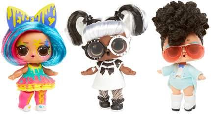 Кукла-сюрприз в капсуле LOL Surprise 5 Hairgoals 2+1 в подарок 556220K
