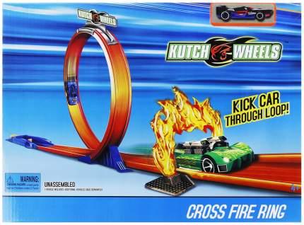 """Автотрек """"Kutch Wheels. Петля с огненным колесом"""", 1 машинка"""