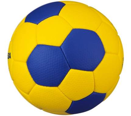 Мяч гандбольный Mikasa HB3000 с логотипом IHF, 3, желтый/синий