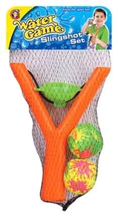 Набор для метания: рогатка, 2 текстильных шарика