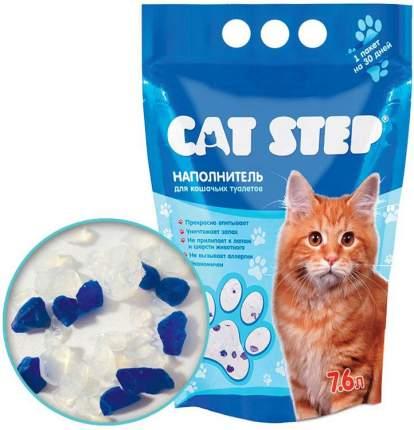 Наполнитель для кошачьего туалета Cat Step, силикагелевый, 7,6 л, 3,62 кг