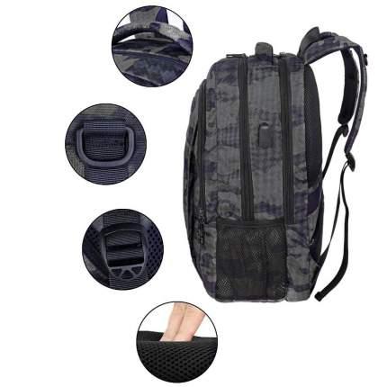 "Рюкзак для ноутбука Matein Mlassic, 15.6"", серый камуфляж"