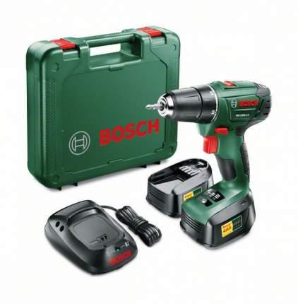 Аккумуляторная дрель-шуруповерт Bosch PSR 1800 LI-2 2 batt. 1,5 Ah 603973308