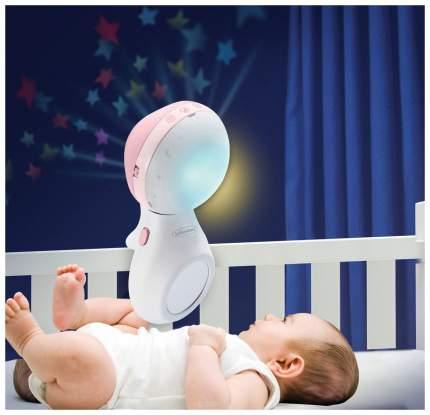 Мобиль электрический Infantino Музыкальный с проектором 3 в 1 розовый
