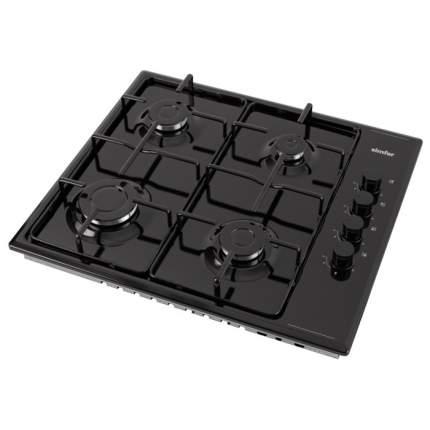 Встраиваемая варочная панель газовая Simfer H60Q40B511 Black