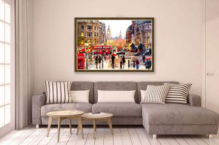 Репродукция в раме 97х67 см Hoff Лондонский пейзаж