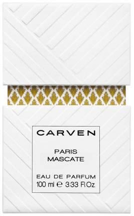 Парфюмерная вода CARVEN Paris Mascate 100 мл
