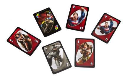 Настольная игра uno бэтмен против супермена