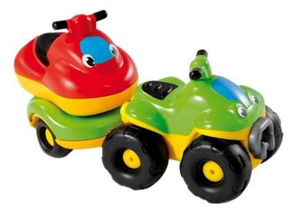 Машинки Smoby Квадроцикл с прицепом из серии Vroom Planet