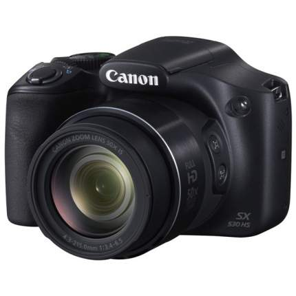 Фотоаппарат цифровой компактный Canon PowerShot SX530 HS Black