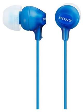 Наушники Sony MDR-EX15 Cyan