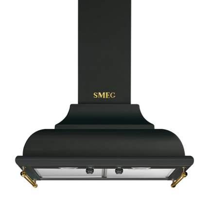 Вытяжка купольная Smeg KC16AOE Black/Gold