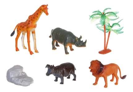 Набор животных Bondibon ребятам о зверятах, дикие/домашние 2 вв1640