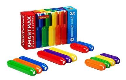 Магнитный конструктор smartmax/ Bondibon дополнительный набор:6 кор.и 6 длин. палочек